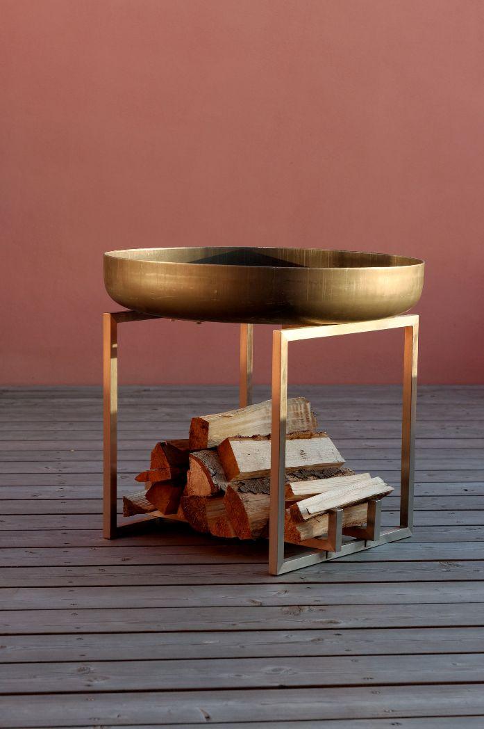 design feuerschale cube xxl durchmesser 63 cm. Black Bedroom Furniture Sets. Home Design Ideas